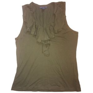 American Living Army Green Tank
